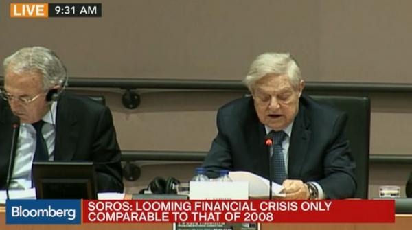 George Soros vede nella Brexit una fonte di crisi finanziaria come nel 2007-'08, ma anche un'opportunità per arrivare alla nascita del super-stato europeo.