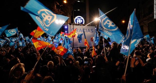Risultati elezioni Spagna negativi per sinistra