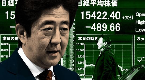 Giappone nella morsa della stagnazione e della deflazione strisciante. Nuovi stimoli fiscali in arrivo, quando già il debito è al 230% del pil.