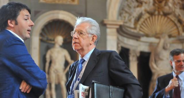 Sulle banche italiane è lite a distanza tra Matteo Renzi e Mario Monti, ma alla fine chi ha davvero ragione? Esaminiamo i fatti.