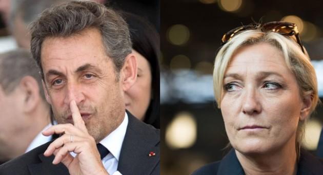 Presidenziali Francia: sfida tra Sarkozy e Le Pen?