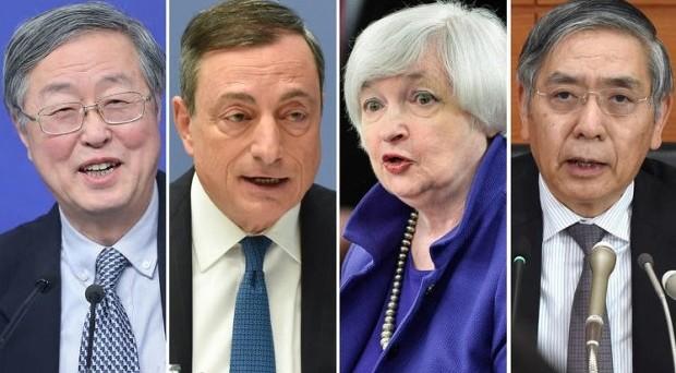 Le banche centrali starebbero coordinando le loro politiche monetarie per evitare una guerra valutaria e tensioni finanziarie? Questo spiega la mancata divergenza di quest'anno.