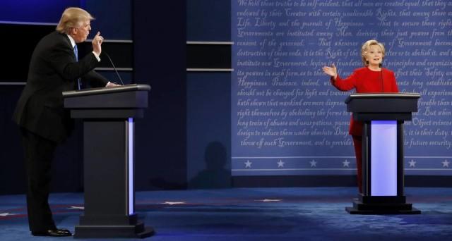Clinton versus Trump, primo faccia a faccia TV