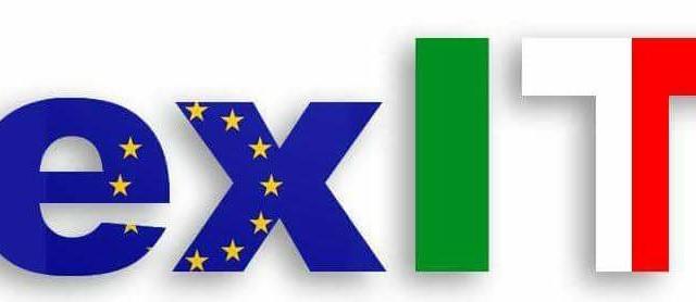 Italia fuori dall'euro con la vittoria del
