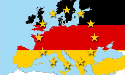 Sul fronte dell'import-export, la UE è dipendente dall'Eurozona per beni, servizi e capitali e, in particolare, a tenere tutti a galla è la Germania, la cui economia è sempre più locomotiva europea.