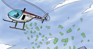 Helicopter money inefficace in Europa