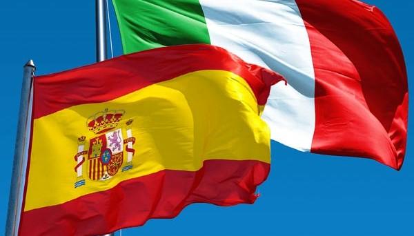 Economia di Spagna e quella d'Italia a confronto su crescita, investimenti, banche, lavoro e debito pubblico.