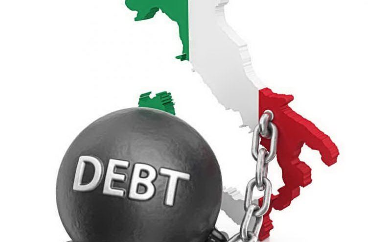 Risultati immagini per debito pubblico