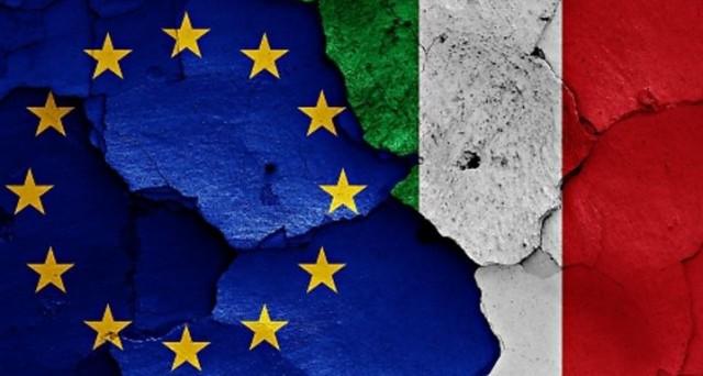 Raddoppiate in un mese le probabilità percepite del rischio di un'uscita dell'Italia dall'euro. Nuovo record anche in Francia.