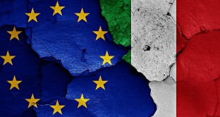 La crisi dell'Italia spaventa i mercati, che scontano un rischio default ai massimi da quando è in carica il governo Renzi. E sull'eventuale uscita dall'euro, i dati appaiono preoccupanti.