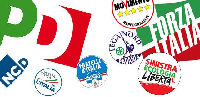Sondaggi politici Demos&Pi e Demetra: il Partito democratico di Matteo Renzi primo, seguito da Movimento 5 Stelle.