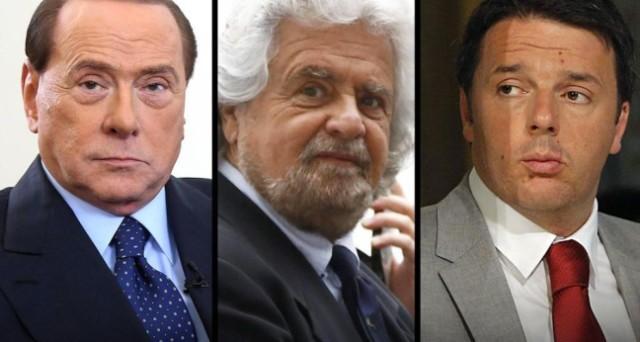 Premio di maggioranza del 10% fisso a chi ottiene più voti e sbarramento del 3%. Sarebbe la legge elettorale su cui si sono accordati Silvio Berlusconi e Matteo Renzi, ma la strada verso il governo per Beppe Grillo non è sbarrata.