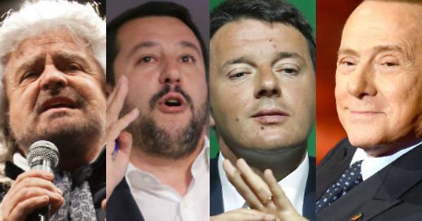 L'ultima figuraccia di Beppe Grillo sul collocamento del Movimento 5 Stelle in Europa è frutto di una lunga stagione politica, in cui idee, valori e programmi non esistono. Nemmeno gli altri leader italiani sanno bene dove stare a Strasburgo.