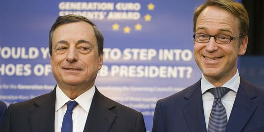 La Germania si scalda per rimpiazzare Mario Draghi alla guida della BCE, forse anche prima della fine del mandato. Ecco un segnale.
