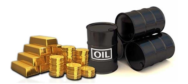 Prezzi di oro e petrolio in calo ai minimi da mesi, dopo che avevano dato segno di vivacità nelle settimane passate. Ecco cosa ne deprime le quotazioni e perché le due materie prime sono tra loro legate.