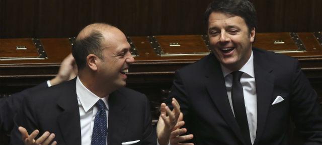 Renzi e Alfano uniti contro Gentiloni