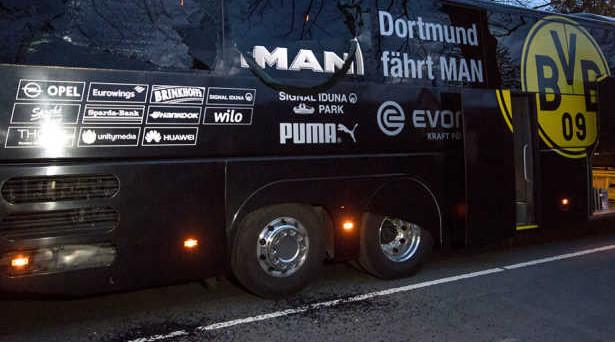 Borussia Dortmund, opzioni put dietro all'attentato