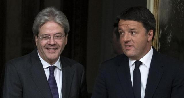 Def: Renzi, no all'aumento dell'Iva e Gentiloni è sulla stessa linea