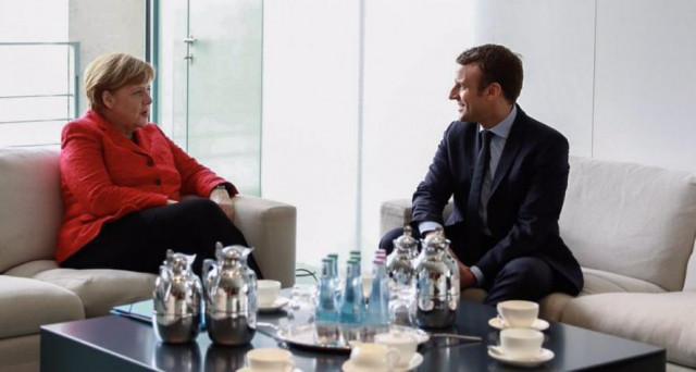 Il presidente Macron propone alla Germania di ridiscutere il funzionamento dell'Eurozona, ma dalle parti della cancelliera Merkel è per ora