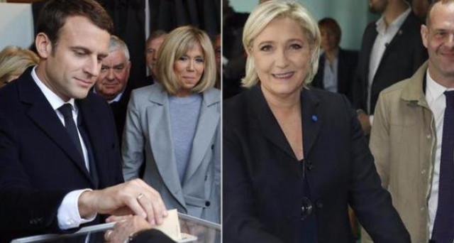 Emmanuel Macron sarebbe in netto vantaggio nei primi risultati informali del ballottaggio in Francia per le elezioni presidenziali.