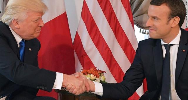 Emmanuel Macron e Donald Trump, così diversi e così simili. Il racconto della stampa internazionale non corrisponde a verità: tra i due capi di stato ci sono forse più affinità che divergenze.
