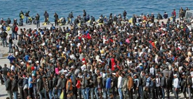 Emergenza migranti, quanti sono in Italia? Un'info-grafica racconta la realtà di 9 paesi
