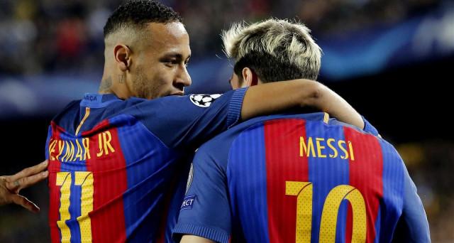 Il calcio europeo è diventato terreno di scontro tra sceicchi. L'operazione Neymar potrebbe venire superata presto dal passaggio di Lionel Messi al Manchester City.