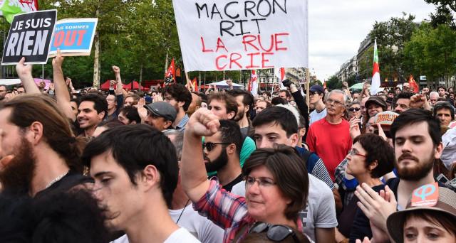 La Francia sciopera oggi per la prima volta sotto la presidenza Macron contro la riforma del lavoro. Eppure, le misure di Parigi sono essenziali per barattare con la Germania il nuovo euro.