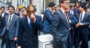 Il lunedì nero del 19 ottobre 1987 a Wall Street