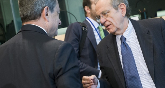 Lite sulle banche tra Draghi e Padoan