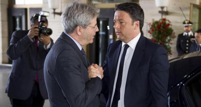 Gentiloni più forte verso Renzi