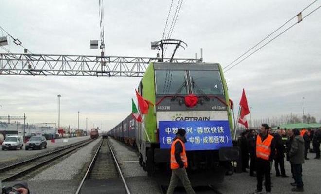 La nuova via della seta: il treno che unisce economicamente Italia e Cina