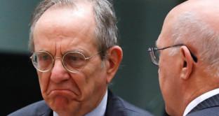 Padoan non sarà presidente dell'Eurogruppo