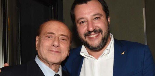 Salvini litiga con Berlusconi sul deficit