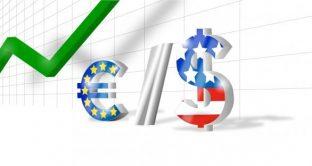 Cambio euro-dollaro ai massimi da fine 2014