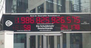 Debito pubblico tedesco in calo e politica a Berlino in impasse