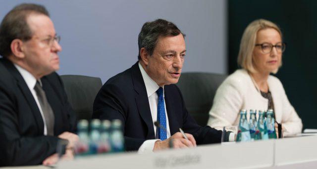 Oggi, l'attesa conferenza stampa di Mario Draghi (BCE)