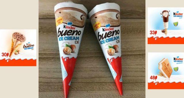 Arrivano i gelati della Ferrero al gusto Kinder Bueno: una rivoluzione che però riguarderà soltanto Francia, Germania e altri paesi europei.