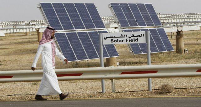 Arabia Saudita punta sul solare