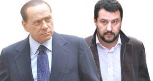 Berlusconi e Salvini, alleati-avversari