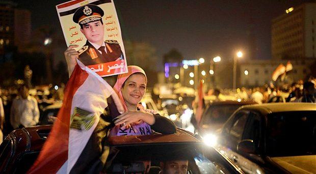 Il presidente egiziano al-Sisi ha ottenuto un plebiscito alle elezioni, forse anche grazie al timido miglioramento dell'economia dopo le riforme impopolari degli ultimi anni.