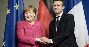 Merkel e Macron divisi dai dazi di Trump