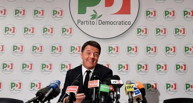 Dimissioni farsa e niente alleanze per Matteo Renzi