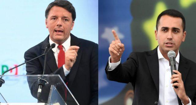 Renzi in caduta libera e abbandonato da tutti nel PD