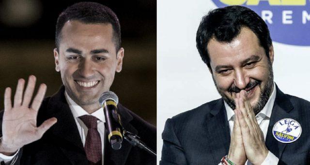 Matteo Salvini e Luigi Di Maio hanno obiettivi a breve diversi, ma entrambi sperano di vincere gli avversari interni. Ecco cosa spiega la differenza di toni tra i due papabili premier.