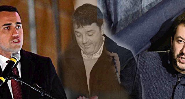 Il PD di Matteo Renzi viene triturato alle elezioni da Movimento 5 Stelle e Lega. Luigi di Maio e Matteo Salvini unici vincitori alle urne, mentre per Silvio Berlusconi, scavalcato dall'alleato, finisce un'era. La legislatura, numeri alla mano, è nelle mani del Carroccio.