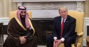Vertice tra Trump e Mohammed bin Salman