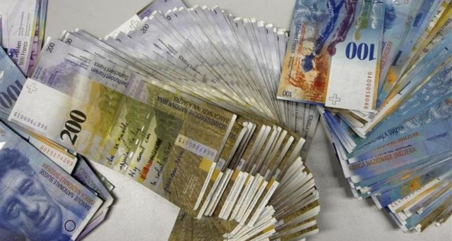 Franco svizzero a ridosso di 1,20 contro l'euro