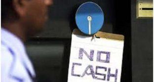 In India torna a mancare il contante