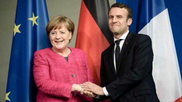 Governo tedesco diviso sulle riforme dell'Eurozona. Dentro il partito della cancelliera Merkel si leva un altolà alle proposte del presidente francese Macron.